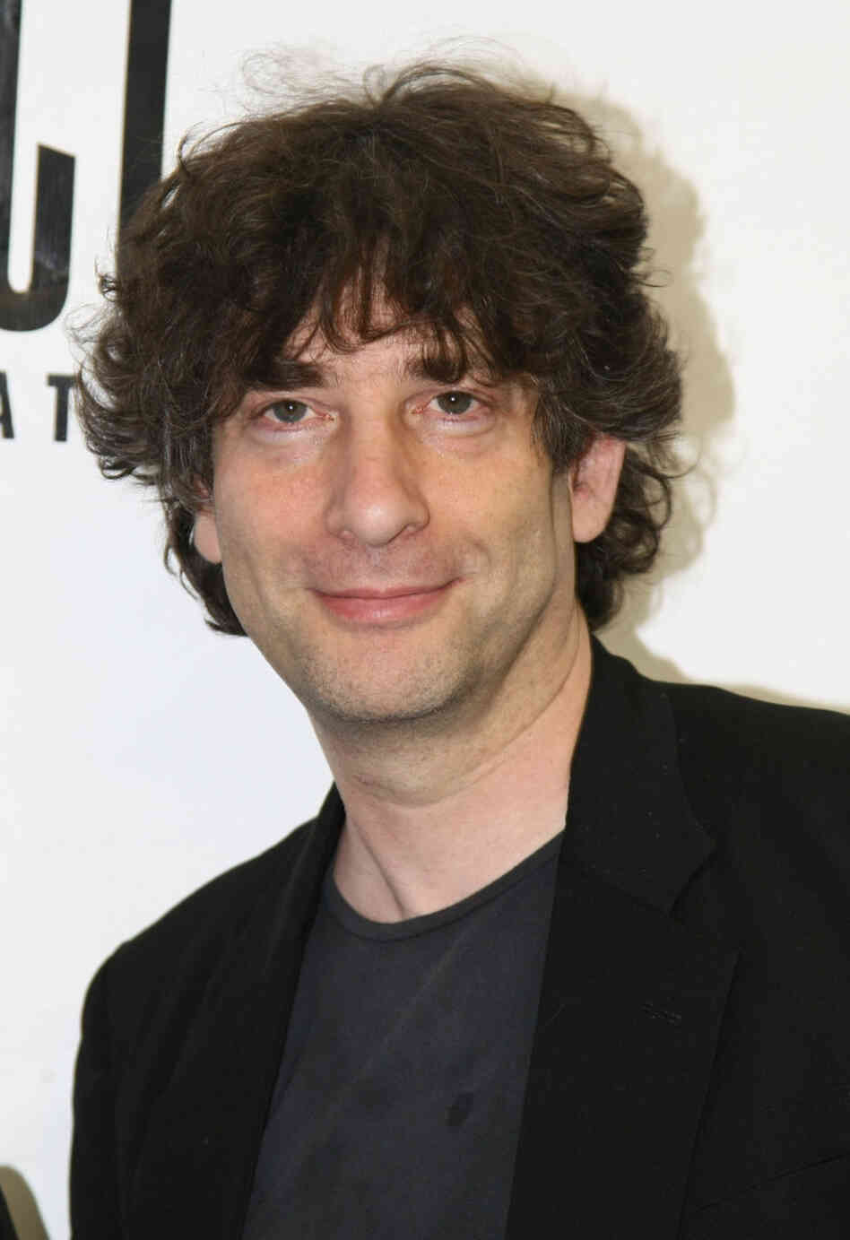 Author Neil Gaiman, seen here in 2009, is among the authors rallying to support radio broadcasts of short stories.