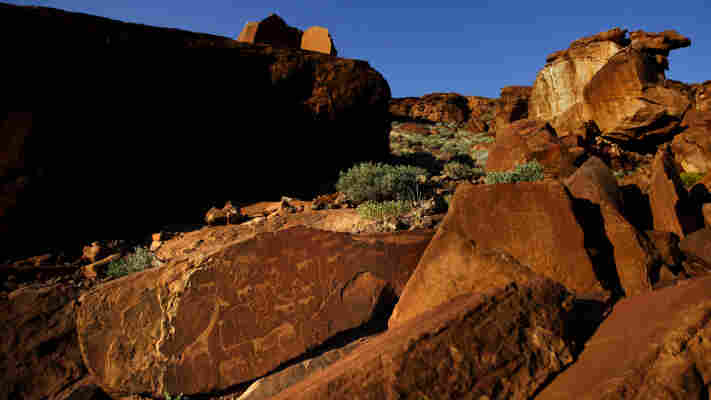 The prehistoric rock drawings at Twyfelfontein, a UNESCO World Heritage Site, reflects the ancient relationship between indigenous peoples and wildlife.