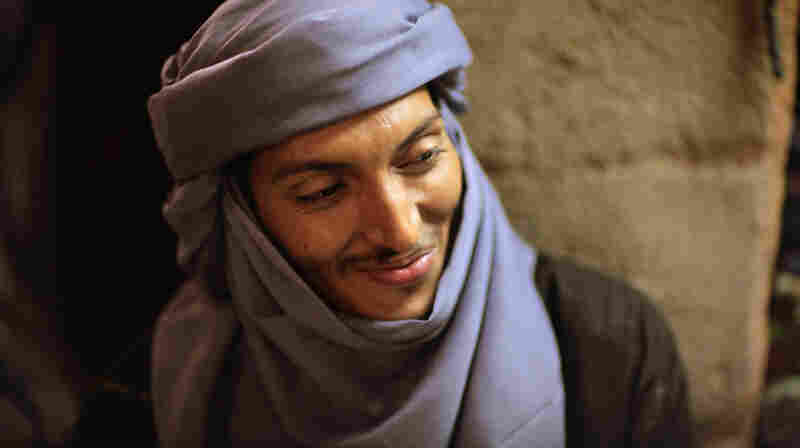 "Omara ""Bombino"" Moctar, a Tuareg of Saharan Africa, is originally from Niger."