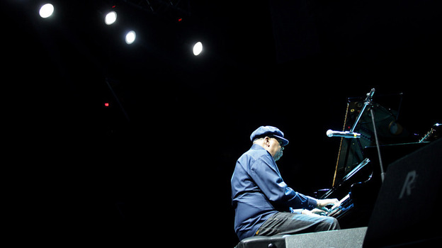 Chucho Valdes, the 2011 winner of the Grammy Award for Best Latin Jazz Album, performs earlier this year at a Jazz Festival in Perugia, Italy. That award was eliminated in April; starting next year, Valdes and other Latin jazz musicians will compete in the Best Jazz Album category. (Getty Images)