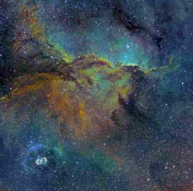 Fighting Dragons of Ara (NGC 6188 and 6164), Michael Sidonio, Australia