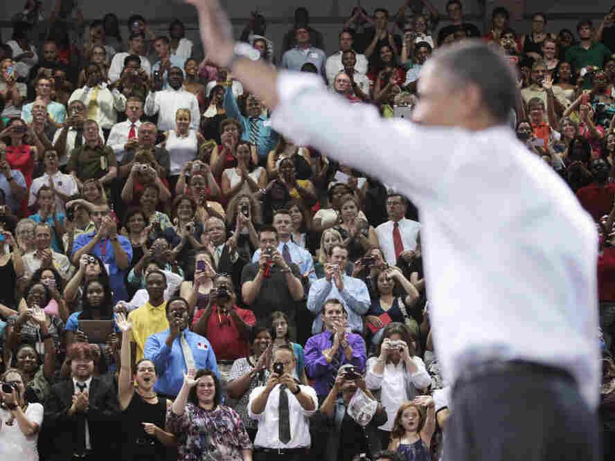 President Obama in Raleigh, N.C., Sept. 14, 2011.