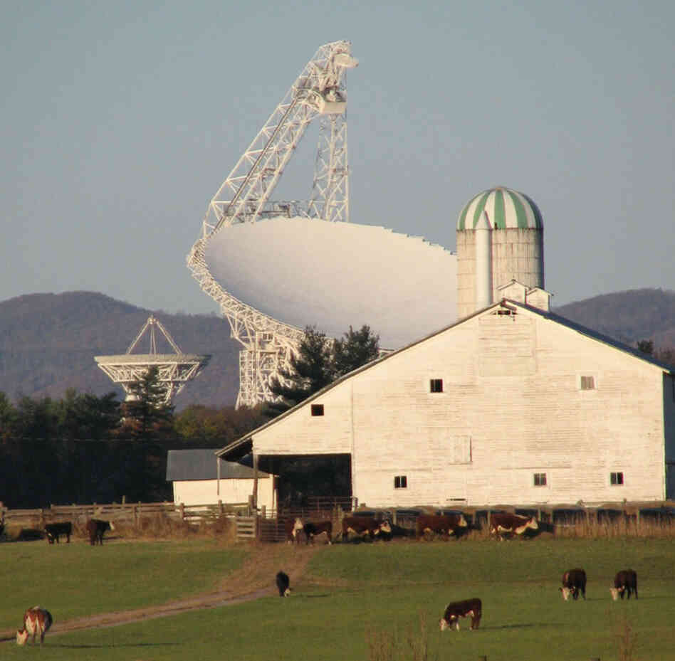 The Robert C. Byrd Telescope in Green Bank, W. Va.
