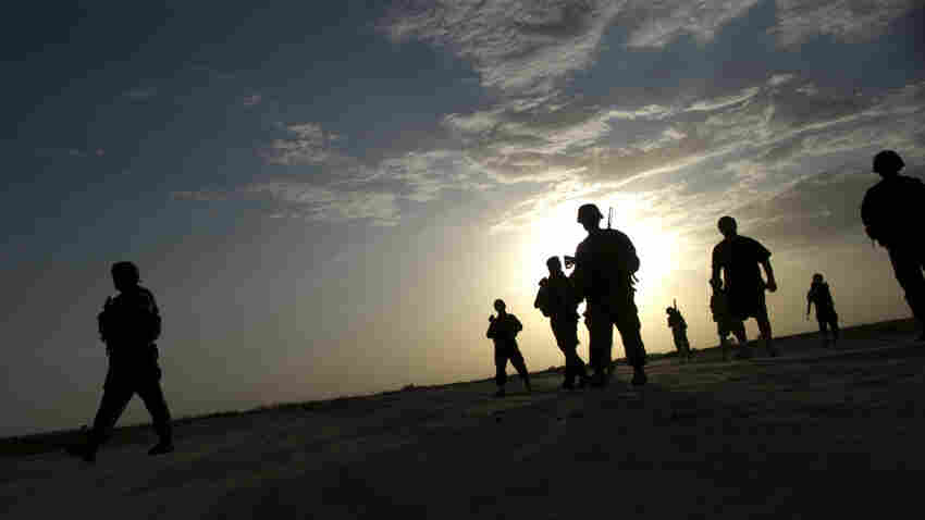 U.S. Army soldiers in Afghanistan's eastern Paktika province on Monday. In the U.S., public interest in the war has waned as the American involvement approaches 10 years.