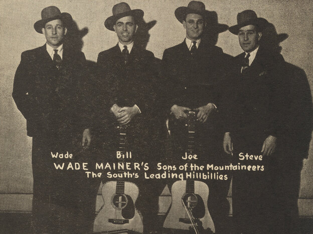 """Wade Mainer's sons of the Mountaineers, the South's """"Leading Hillbillies."""""""