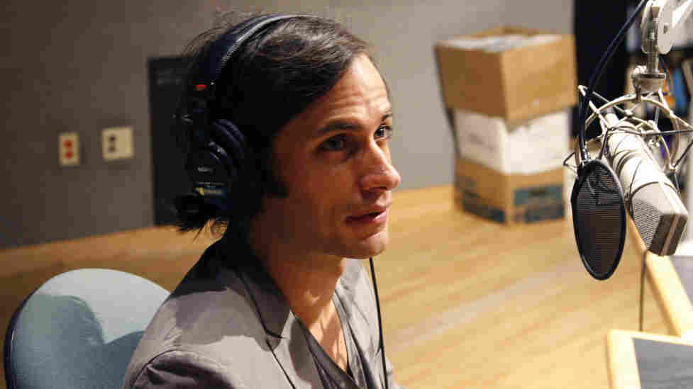Actor Gael Garcia Bernal discusses The Invisibles, his collection of short documentaries, with Tell Me More at NPR headquarters in Washington, D.C.