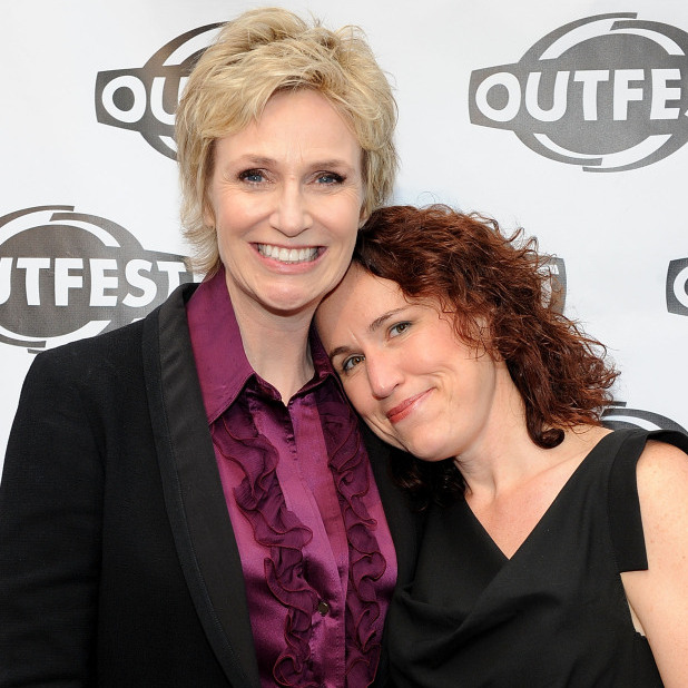 Jane Lynch and her wife Lara Embry were married in 2010.