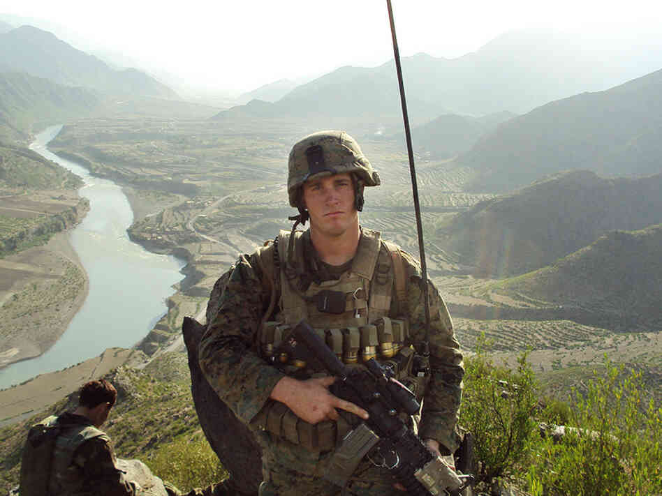 Sgt. Dakota Meyer in Afghanistan in an undated photo released by the U.S. Marine Corps.