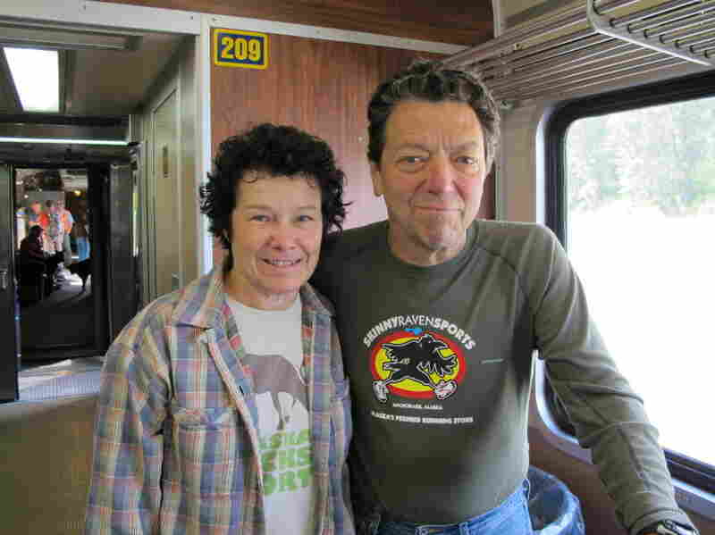 Julie and Ken Flynn ride the Hurricane Turn several times each summer to  access their recreational cabin.
