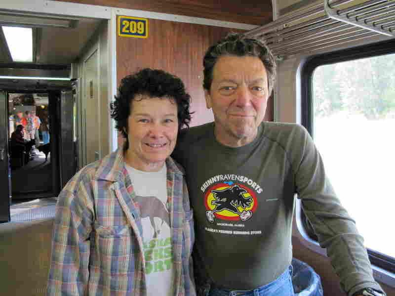 Julie and Ken Flynn ride the Hurricane Turn several times each summer to  access their recreational cabin.