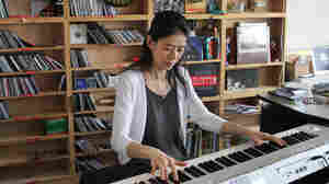 Jenny Lin performs a Tiny Desk Concert at the NPR Music offices.
