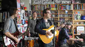 Jeremy Messersmith performs a Tiny Desk Concert at the NPR Musico offices on June 20, 2011.