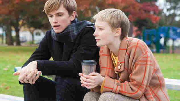 Made For Each Other? In Restless, the cancer-stricken Annabel (Mia Wasikowska) falls for Enoch (Henry Hopper), a death-haunted funeral crasher who's best friends with a ghost.