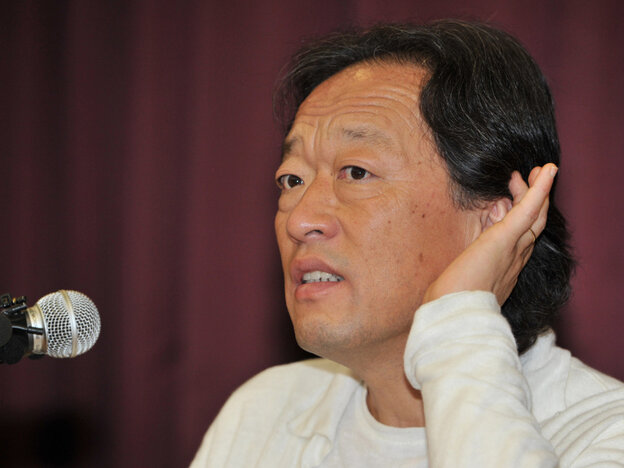 Chung Myung-Whun, conductor of the Seoul Philharmonic Orchestra, speaks during the press conference in Seoul on Sept. 16, 2011.