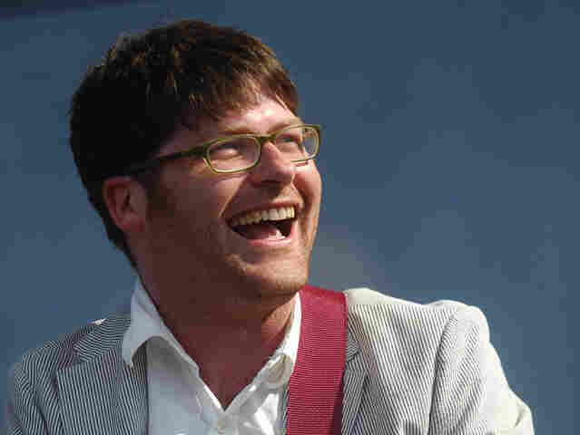 Colin Meloy of The Decemberists performs during the fourth and final day of the Bonnaroo Music and Arts Festival June 17, 2007 in Manchester, Tennessee. The four-day festival features a variety of musical acts, arts and comedians.