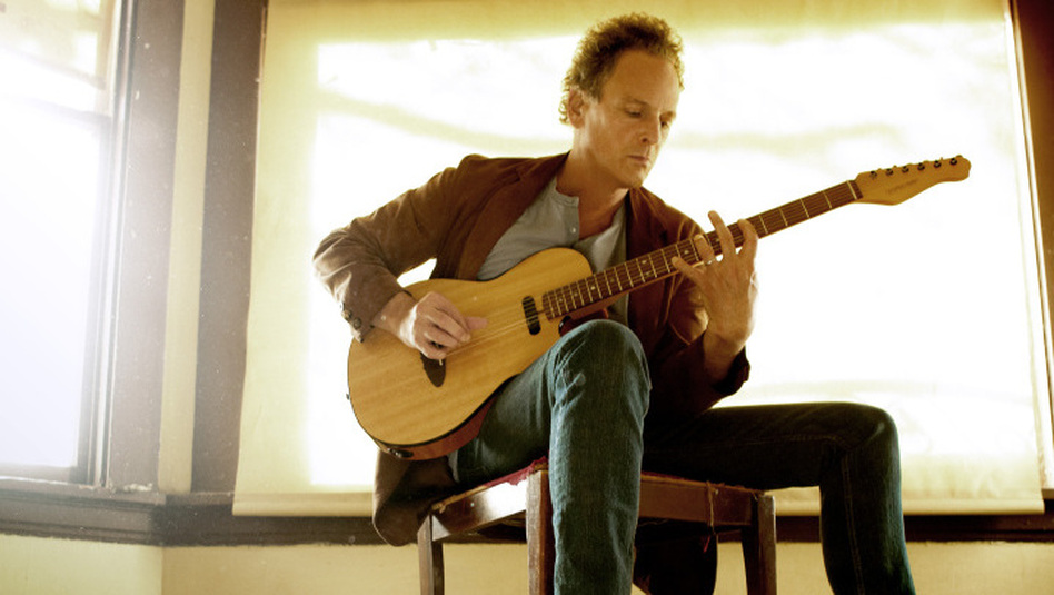 Lindsey Buckingham's new album is titled Seeds We Sow. (Jeremy Cowart)