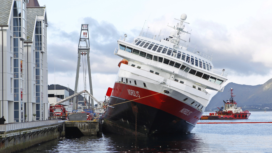 Will It Tip Over Norwegian Cruise Ship Listing Dangerously After - List of cruise ships