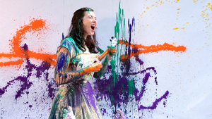 """Lisa Hannigan in the music video for """"Knots."""""""