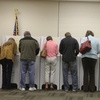 Voters cast their ballots in Idaho's general election last November. The state requires photo IDs to be presented at the polls.
