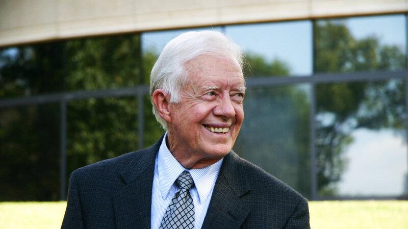 Jimmy Carter No Downside To Palestine Statehood Npr