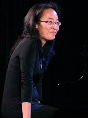 Helen Sung at the Monterey Jazz Festival.