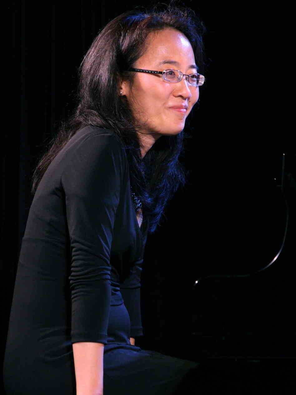 Helen Sung at the Monterey Jazz Festival.