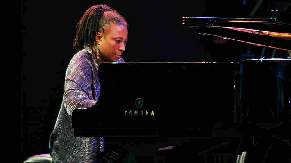 Geri Allen performs on Saturday night of the 2011 Monterey Jazz Festival.