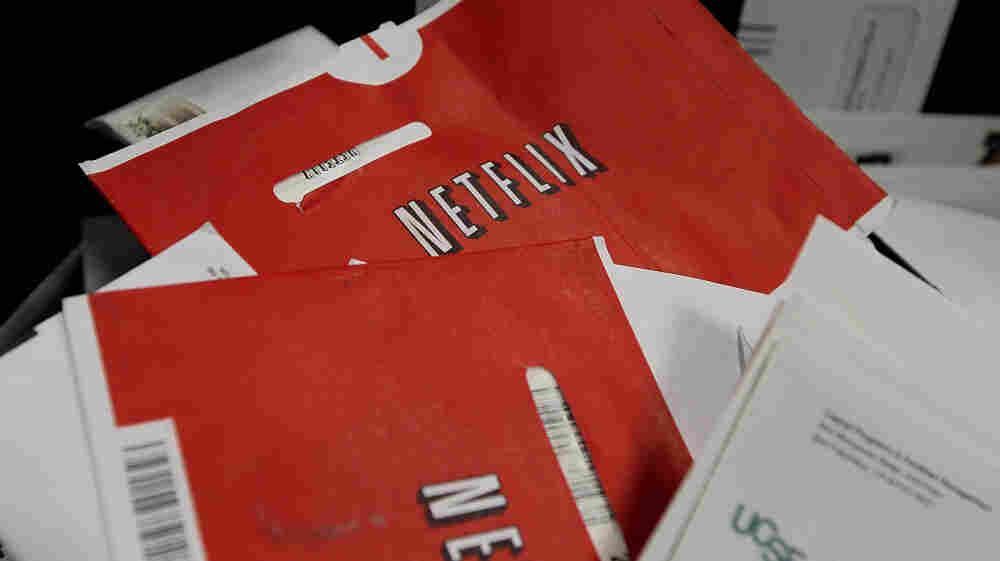 The red Netflix envelope is due to be replaced by Qwikster.