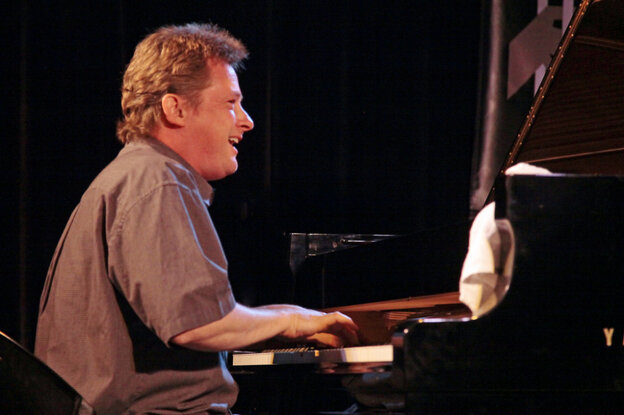 Bill Carrothers performs at the Monterey Jazz Festival.