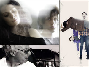 Clockwise from upper left: Exitmusic, Milagres, Harold Budd.