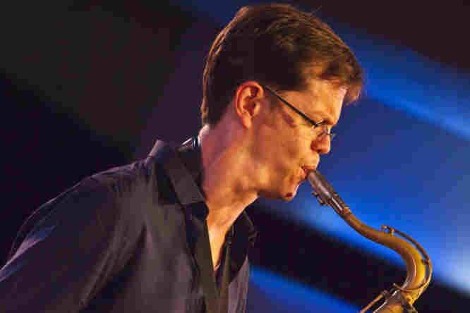 Donny McCaslin at the 2011 Monterey Jazz Festival.
