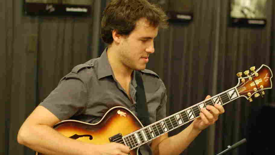Gilad Hekselman performs with his Hex Trio on The Checkout to celebrate the release of Hearts Wide Open.