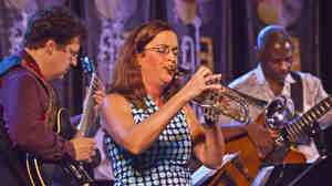 The Sarah Wilson Quintet at the 2011 Monterey Jazz Festival.