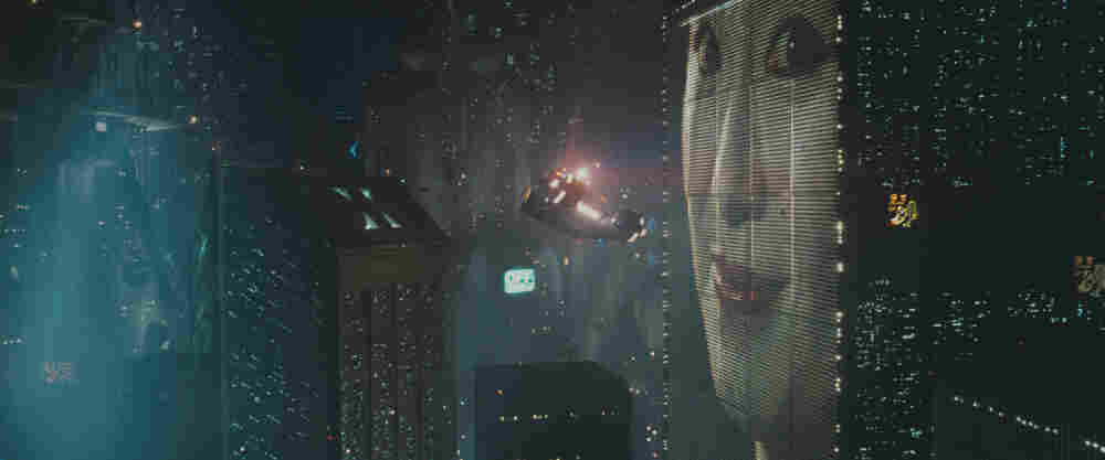 The Classic Future: Ridley Scott's  Blade Runner, released in 1982, envisioned a cityscape with buildings wrapped in video displays — well before New York's Times Square went digital.