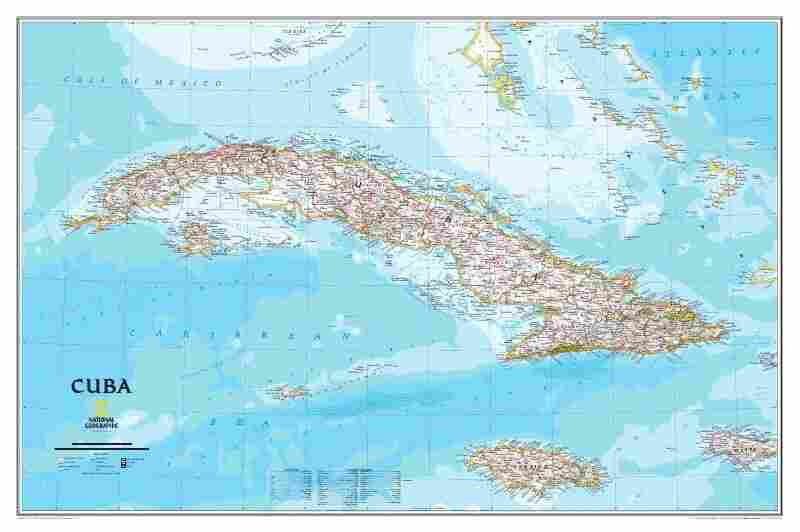 The National Geographic Society has released its first official map of Cuba in more than a century. Click here for a closer look.