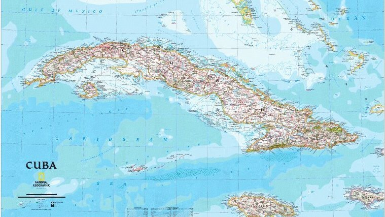 Cartographer Maps Cuba, And A Personal History : NPR