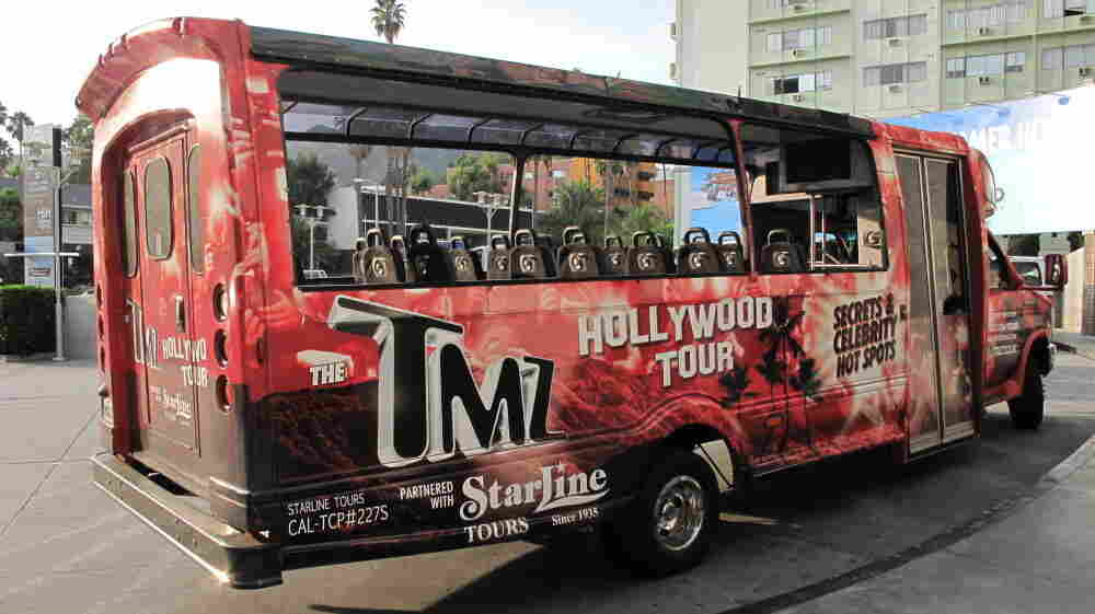 "The TMZ Tour promises ""Secrets and  Celebrity Hot Spots,"" all seen from the comfort of a bus that seats 24."