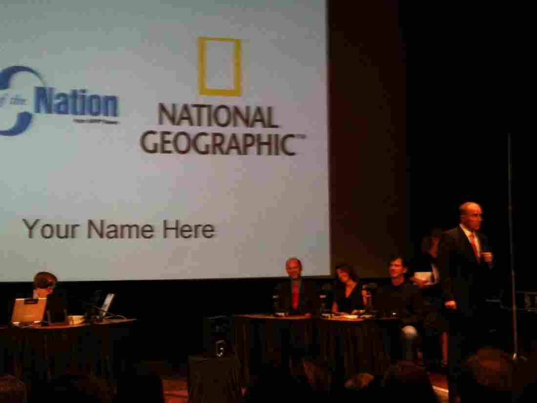 National Geographic Magazine Editor and Photographer Chris Johns speaks to Talk of the Nation's live audience about his own experiences dealing with the teenage brain.