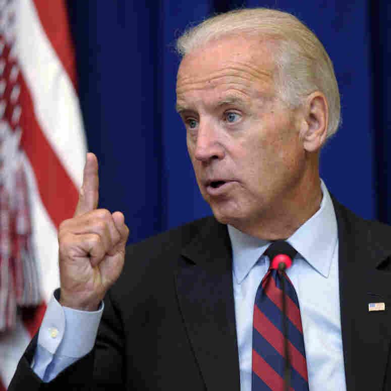 Go get 'em, the president tells Biden.