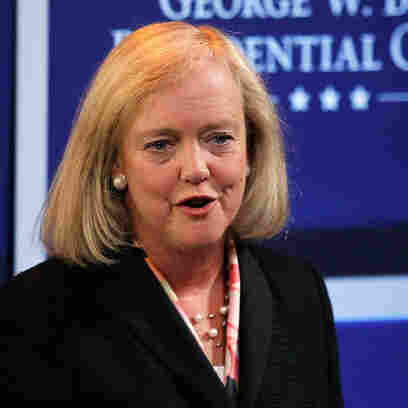 Meg Whitman, on April 12, 2011, at Southern Methodist University in Dallas.