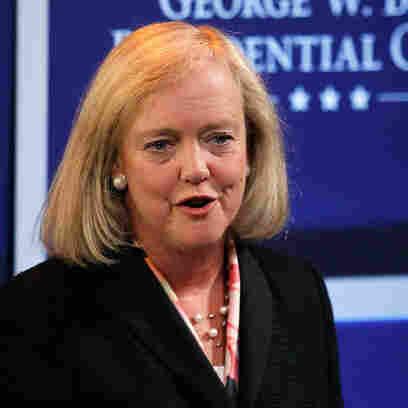 Meg Whitman, on April 12, 2011, at Southern Methodist University in Dallas.