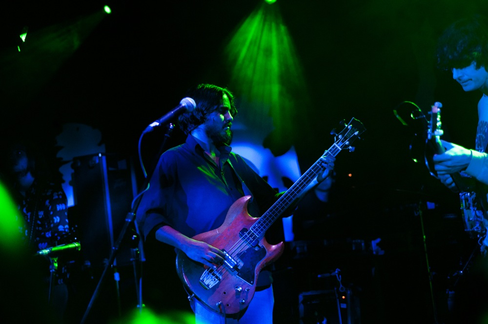 The Olivia Tremor Control performing live at (Le) Poisson Rouge in New York City, Sept. 21, 2011.