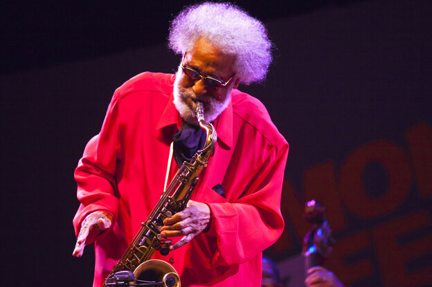Sonny Rollins headlined the final day of the 2011 Monterey Jazz Festival.