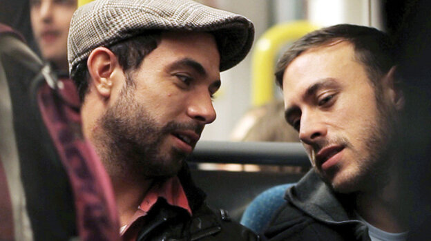 Russell (Tom Cullen) and Glen (Chris New) fall hard and fast for each other — but as they grow closer over the course of 48 increasingly intense hours, it's clear their stars aren't quite aligned.