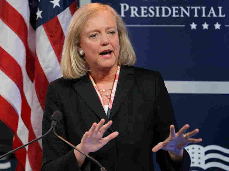 Former California gubernatorial candidate Meg Whitman was chosen to take over at Hewlett-Packard
