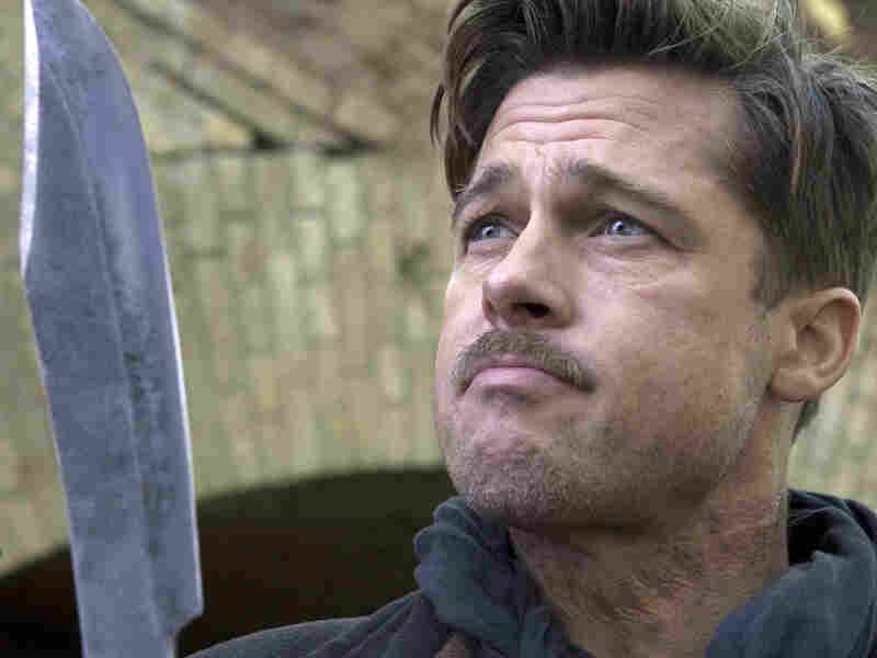 Pitt portrays Lt. Aldo Raine, a part-Apache Southerner, in Quentin Tarantino's film Inglourious Basterds.