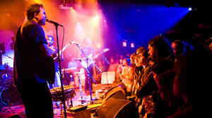 The Olivia Tremor Control live at Le Poisson Rouge in New York City.