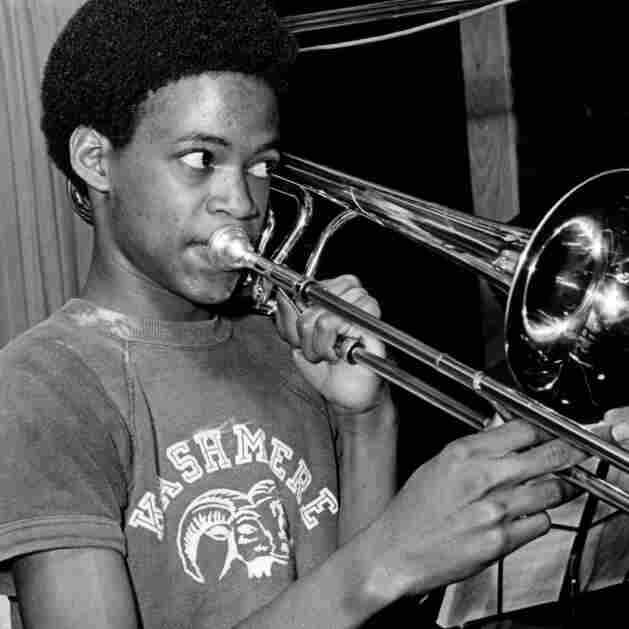 An Otis Redding concert inspired a Texas  high school teacher to turn the Kashmere High School Stage Band into a  soul powerhouse. In Mark Landsman's film, one former student — a keyboardist, not the unidentified trombonist pictured — says he'd be a  felon today if the band hadn't given him a constructive focus.