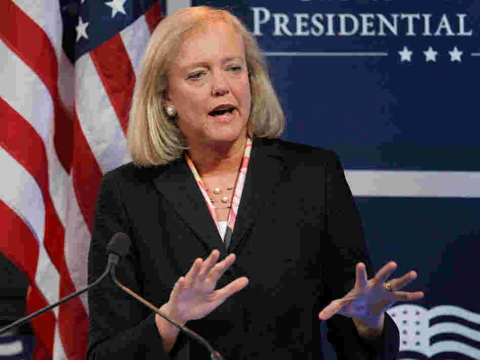 Former California gubernatorial candidate Meg Whitman was chosen to take over at Hewlett-Packard