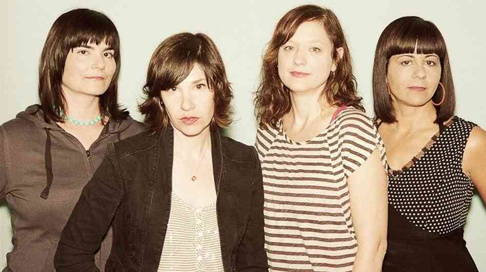 Wild Flag's self-titled debut album was released earlier this month. Left to right: Rebecca Cole, Carrie Brownstein, Mary Timony, Janet Weiss.